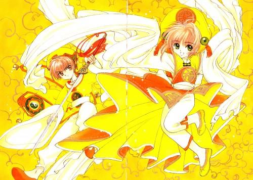 CLAMP, Cardcaptor Sakura, Cardcaptor Sakura Illustrations Collection 1, Syaoran Li, Sakura Kinomoto