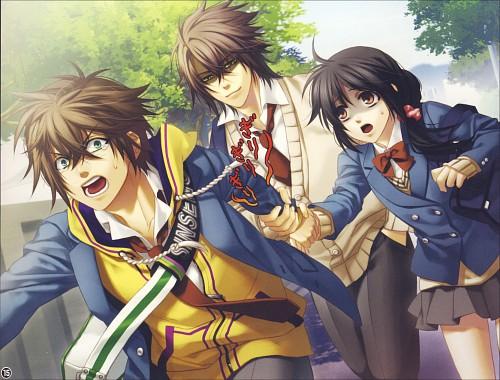 Yone Kazuki, Idea Factory, Hakuouki Shinsengumi Kitan, Souji Okita (Hakuouki), Heisuke Toudou (Hakuouki)