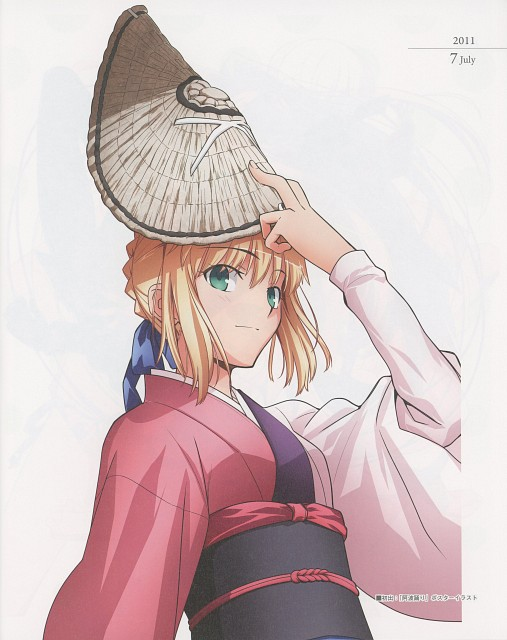 Takashi Takeuchi, TYPE-MOON, Fate/Art Chronicle, Fate/stay night, Saber