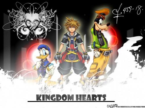 Square Enix, Kingdom Hearts, Donald Duck, Goofy, Sora Wallpaper
