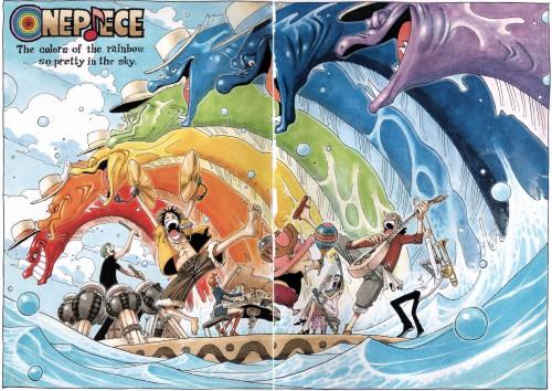 Eiichiro Oda, Toei Animation, One Piece, Color Walk 4 - Eagle, Monkey D. Luffy