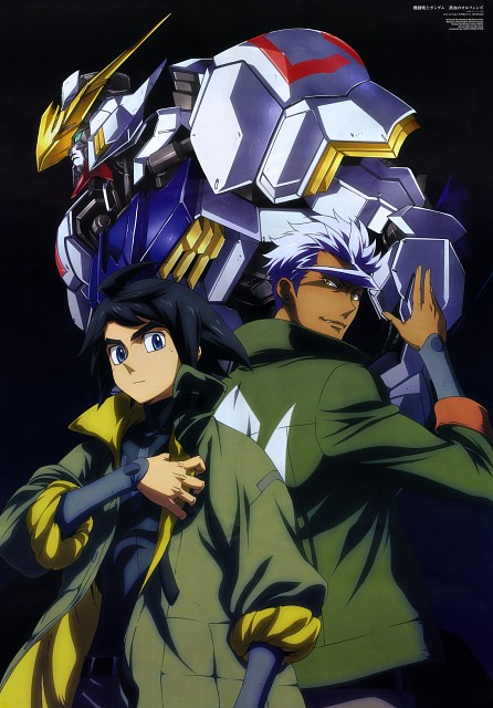 Sunrise (Studio), Mobile Suit Gundam: Iron-Blooded Orphans, Mikazuki Augus, Orga Itsuka