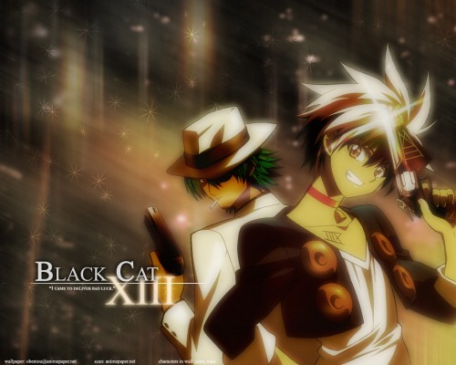 Kentaro Yabuki, Gonzo, Black Cat, Sven Vollfied, Train Heartnet Wallpaper