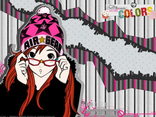 Oh! Great, Toei Animation, Air Gear, Ringo Noyamano Wallpaper