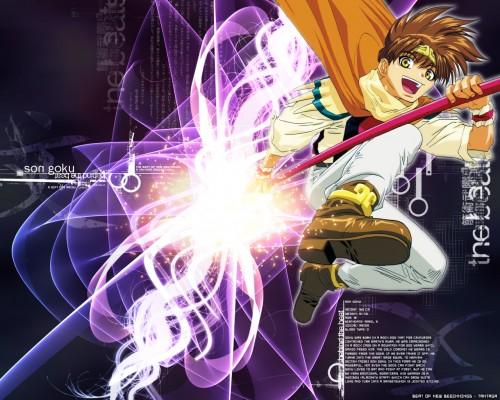 Kazuya Minekura, Studio Pierrot, Saiyuki, Son Goku (Saiyuki) Wallpaper