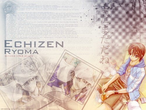 J.C. Staff, Prince of Tennis, Ryoma Echizen Wallpaper