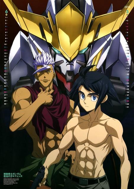 Michinori Chiba, Hiroshi Arisawa, Sunrise (Studio), Mobile Suit Gundam: Iron-Blooded Orphans, Orga Itsuka