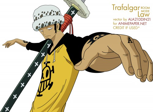Eiichiro Oda, Toei Animation, One Piece, Trafalgar Law, Vector Art