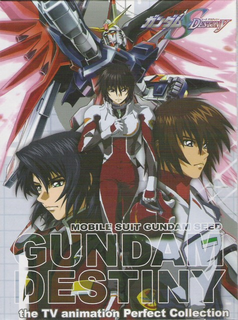 Sunrise (Studio), Mobile Suit Gundam SEED Destiny, Kira Yamato, Shinn Asuka, Athrun Zala