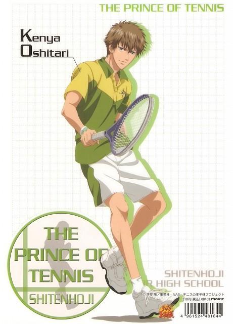 Takeshi Konomi, J.C. Staff, Prince of Tennis, Kenya Oshitari