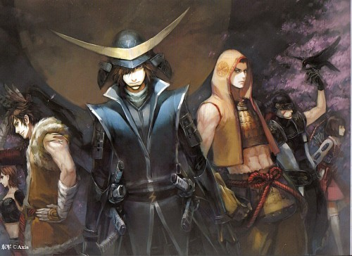 Axis, Sengoku Basara, Magoichi Saika (Sengoku Basara), Masamune Date, Ieyasu Tokugawa (Sengoku Basara)