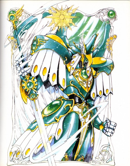 CLAMP, TMS Entertainment, Magic Knight Rayearth, Magic Knight Rayearth 2 Illustrations Collection, Windam