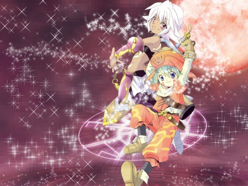 Rei Izumi, Bee Train, .hack//Legend of the Twilight, Shugo Kunisaki, Rena Kunisaki Wallpaper