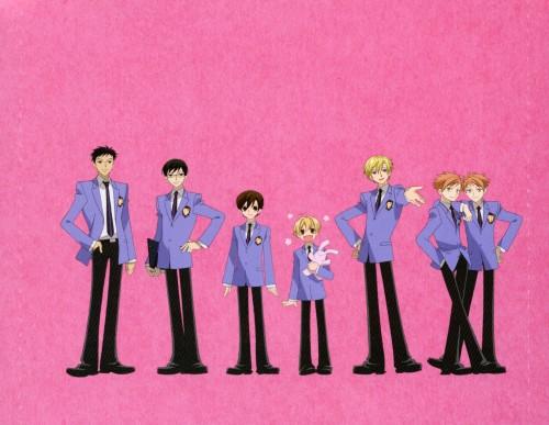 Hatori Bisco, BONES, Ouran High School Host Club, Mitsukuni Haninozuka, Haruhi Fujioka
