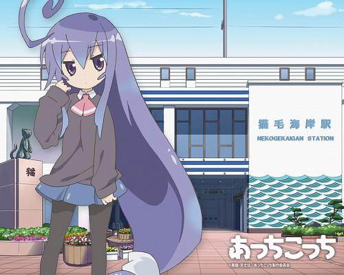 Acchi Kocchi, Tsumiki Miniwa, Official Wallpaper