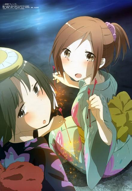 Aya Takano, Brains Base, Isshuukan Friends, Kaori Fujimiya, Saki Yamagishi