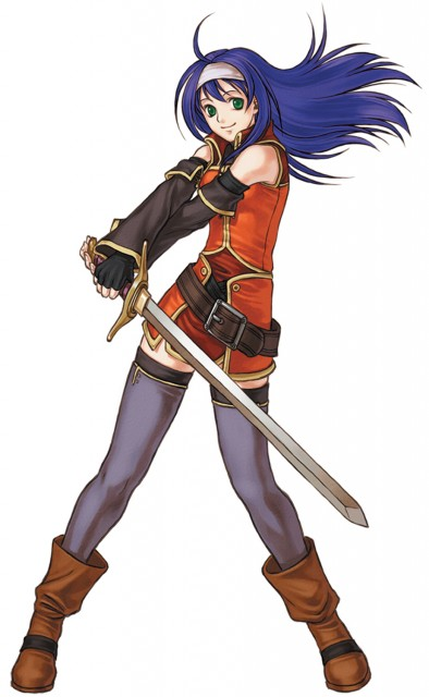 Senri Kita, Nintendo, Fire Emblem, Mia (Fire Emblem)