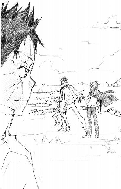 Akira Amano, Artland, Katekyo Hitman Reborn!, Takeshi Yamamoto, Tsunayoshi Sawada