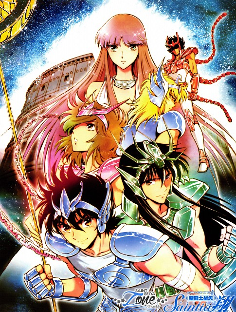Chimaki Kuori, Masami Kurumada, Toei Animation, Saint Seiya, Saint Seiya: Saintia Shou