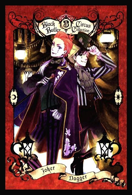 Yana Toboso, A-1 Pictures, Kuroshitsuji, Dagger (Kuroshitsuji), Joker