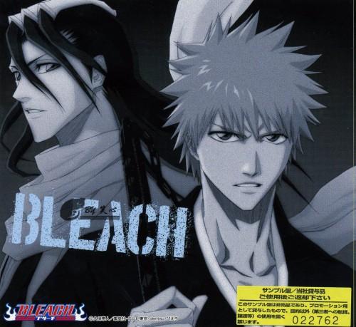 Studio Pierrot, Bleach, Byakuya Kuchiki, Ichigo Kurosaki, Album Cover