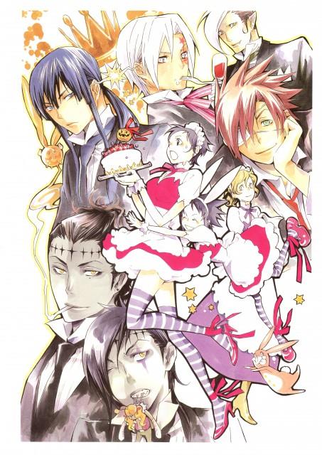 Katsura Hoshino, D Gray-Man, Noche - D.Gray-man Illustrations, Allen Walker, Tyki Mikk