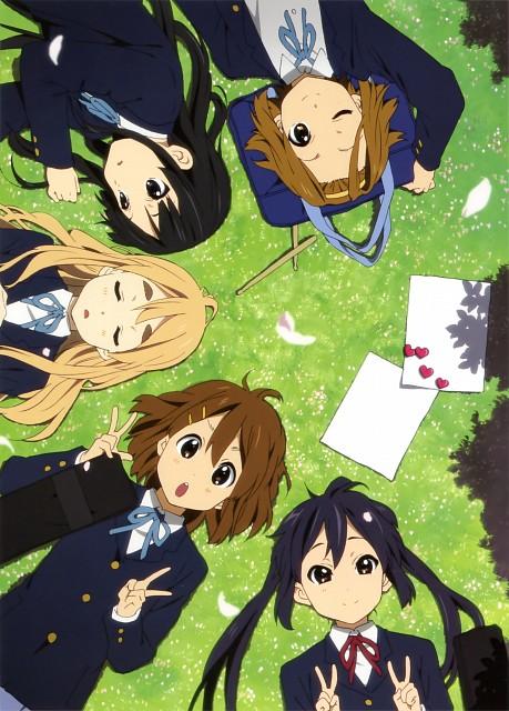Kakifly, Kyoto Animation, K-On!, Ritsu Tainaka, Azusa Nakano