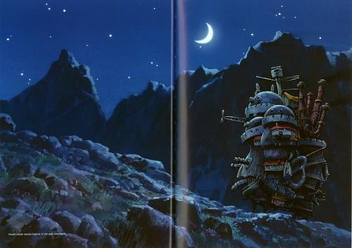 Studio Ghibli, Howl's Moving Castle, The Art of Howl's Moving Castle