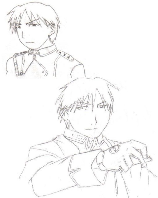 Hiromu Arakawa, BONES, Fullmetal Alchemist, Roy Mustang, Member Art
