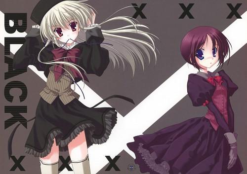 Naru Nanao, Black XXX, Doujinshi, Comic Market 71, Artbook Cover