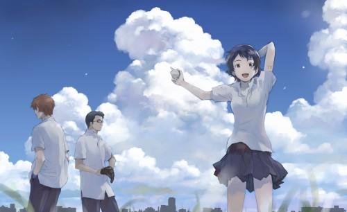 Kumichi Yoshizuki, The Girl Who Leapt Through Time, Chiaki Mamiya, Makoto Konno, Kousuke Tsuda