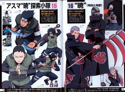 Studio Pierrot, Naruto, Naruto Juunen Hyakunin, Asuma Sarutobi, Hidan
