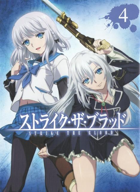 Silver Link, Strike the Blood, La Folia Rihavein, Kanon Kanase, DVD Cover
