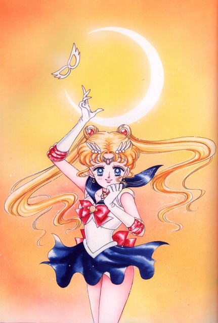 Naoko Takeuchi, Bishoujo Senshi Sailor Moon, BSSM Original Picture Collection Vol. I, Sailor Moon