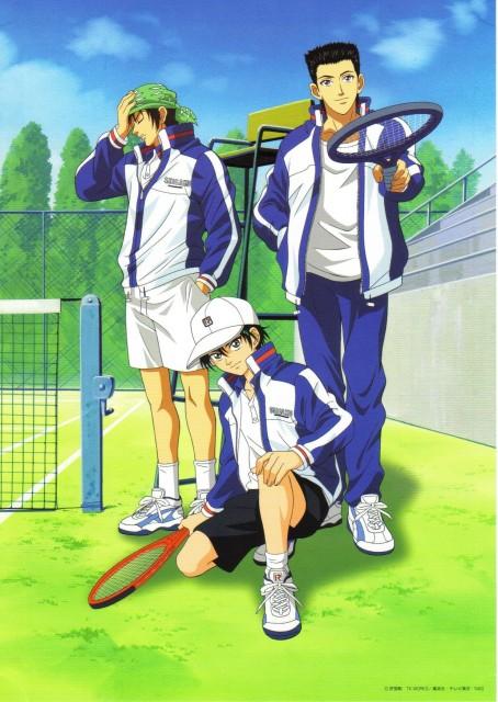 Takeshi Konomi, J.C. Staff, Prince of Tennis, Kaoru Kaidoh, Ryoma Echizen