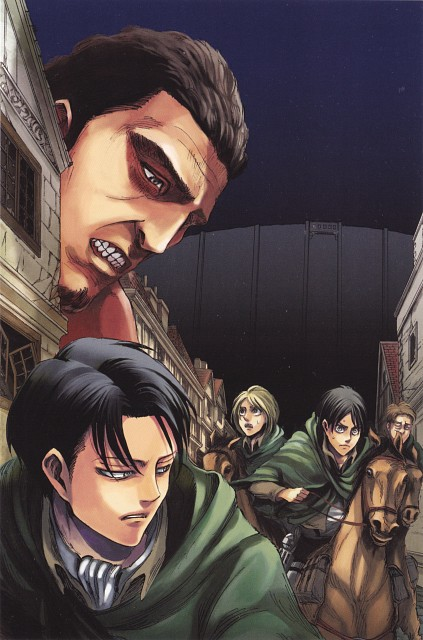 Hajime Isayama, Shingeki no Kyojin, Oluo Bozado, Eren Yeager, Petra Ral