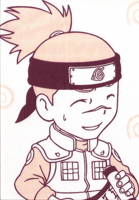 Masashi Kishimoto, Naruto, Iruka Umino