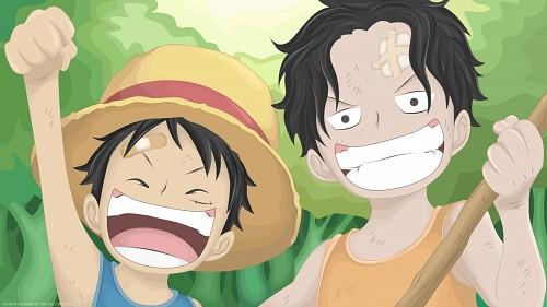 Eiichiro Oda, Toei Animation, One Piece, Portgas D. Ace, Monkey D. Luffy Wallpaper