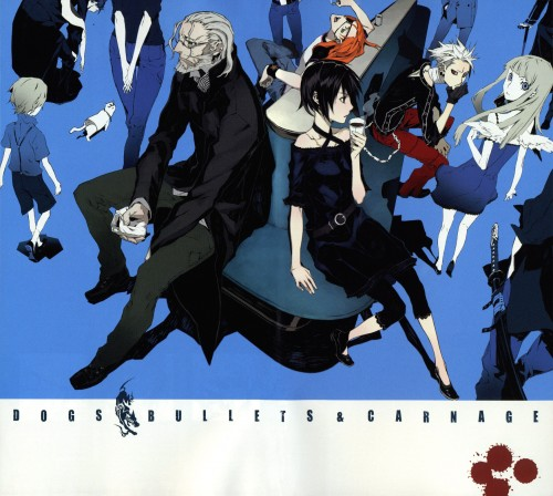 Miwa Shirow, Dogs: Bullets and Carnage, Mihai Mihaeroff, Badou Nails, Nill
