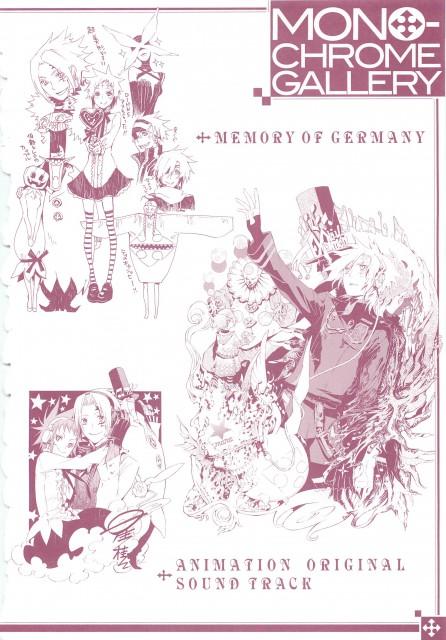 Katsura Hoshino, D Gray-Man, Noche - D.Gray-man Illustrations, Road Kamelot, Lero