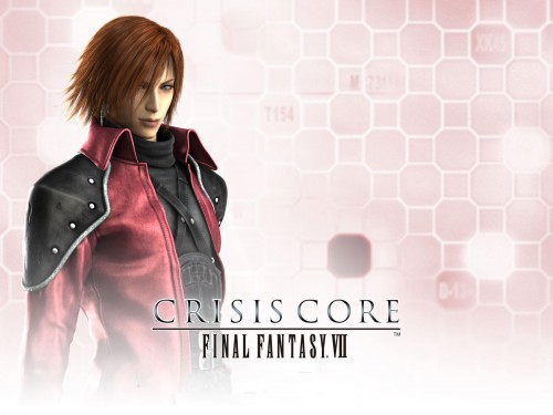 Square Enix, Final Fantasy VII: Crisis Core, Genesis Rhapsodos, Official Wallpaper