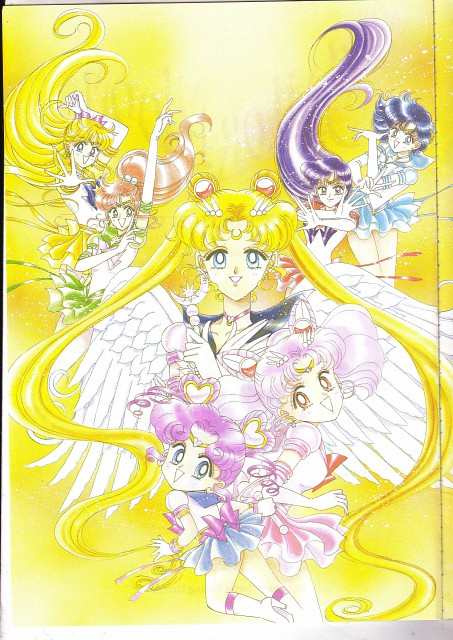 Naoko Takeuchi, Bishoujo Senshi Sailor Moon, BSSM Materials Collection, Eternal Sailor Chibi Moon, Eternal Sailor Mercury