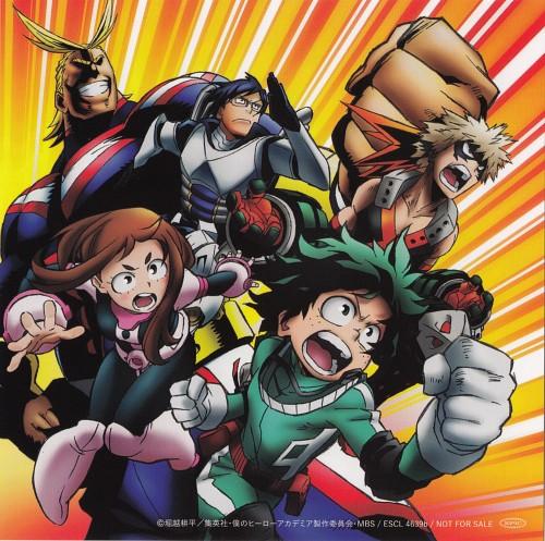 Kouhei Horikoshi, Boku no Hero Academia, Album Cover
