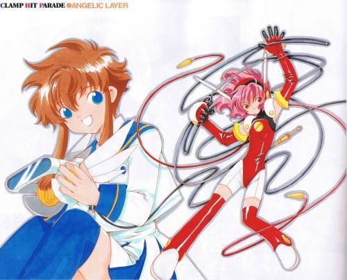 CLAMP, Angelic Layer, Misaki Suzuhara, Hikaru (Angelic Layer), Newtype Magazine