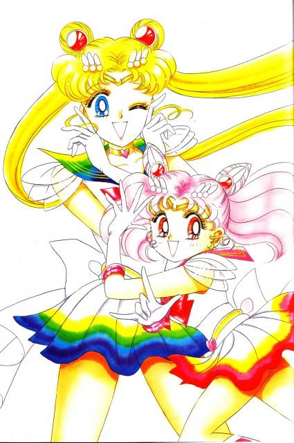 Naoko Takeuchi, Bishoujo Senshi Sailor Moon, BSSM Original Picture Collection Vol. IV, Super Sailor Moon, Super Sailor Chibi Moon