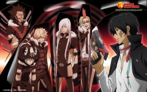 Akira Amano, Katekyo Hitman Reborn!, Belphegor (Katekyo Hitman Reborn!), Superbi Squalo, Levi A Than