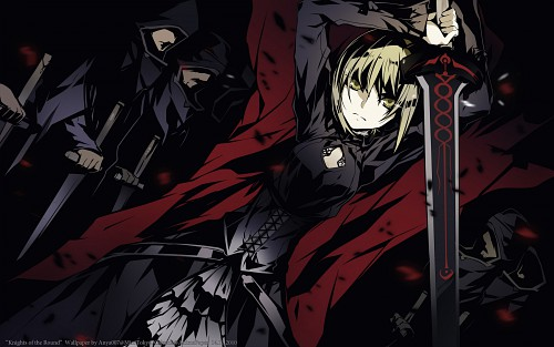 BUNBUN, TYPE-MOON, Fate/Hollow ataraxia, Saber Alter, Occupations Wallpaper