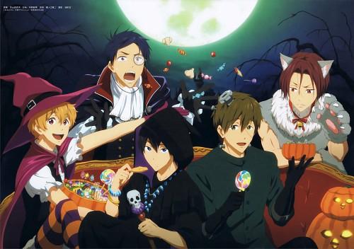 Kyoto Animation, Free!, Makoto Tachibana, Haruka Nanase (Free!), Rei Ryuugazaki