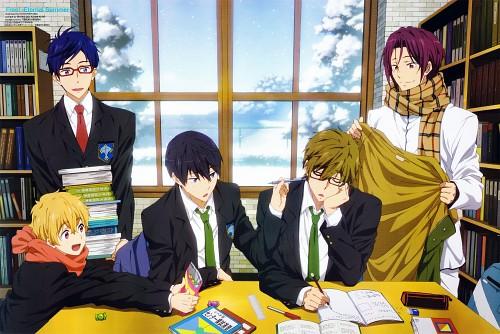 Kayo Hikiyama, Kyoto Animation, Free!, Haruka Nanase (Free!), Rin Matsuoka