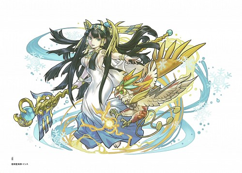 Puzzle & Dragons Illustrations, Puzzle and Dragons, Isis (Puzzle and Dragons)